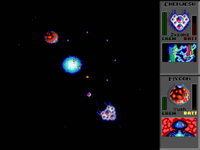 Combat in Star Control II