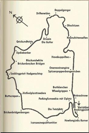 Nordschliefe map